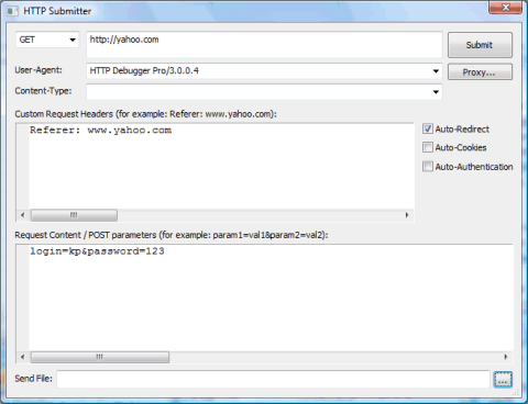 HTTP Debugger Manual